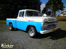 1960 Ford F-100 Coastal Blue (41082) and Winter White (81535)