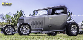 Custom 1932 Linde/Chevy Roadster Paint is a 50/50 mix of Gray Metallic (61260) and Silver Metallic (61231)