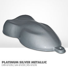 Platinum Silver Metallic