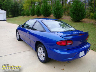2001 Chevy Cavalier Z24 Ultra Blue Pearl (41090)