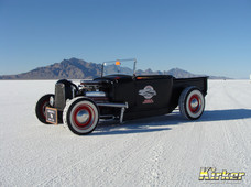 1930 Ford Roadster Hot Rod Black (UA-70388)