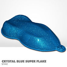 Crystal Blue Super Flake