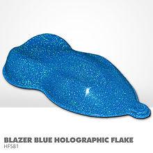 Blazer Blue Holograhic Flake