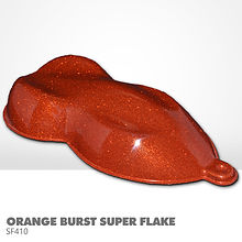 Orange Burst Super Flake