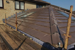 House extension roof