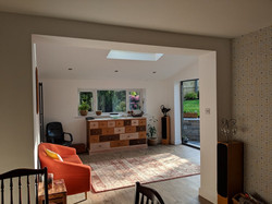 Inside house extension