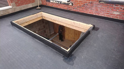 Flat Firestone Rubber Roof with Pyra