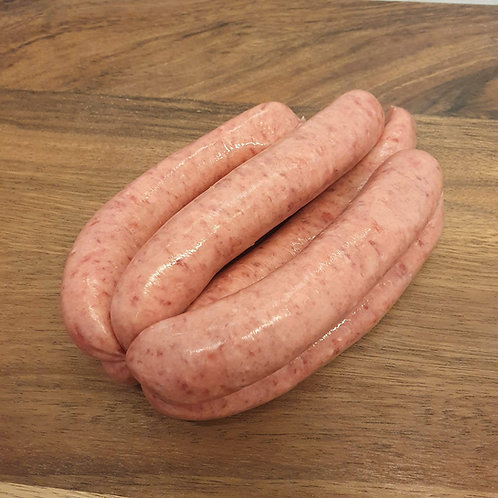 2 x 6 Venison Sausages