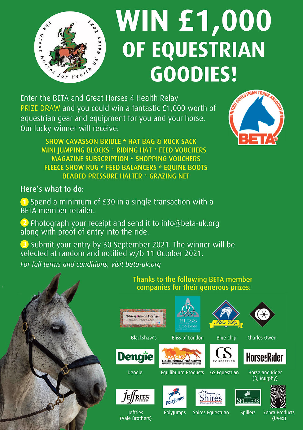 BETA Great Horses 4 Health Relay 2021 Gr