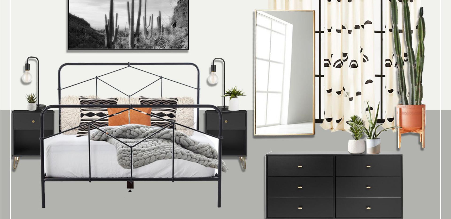 Bedroom B | Original Concept Collage