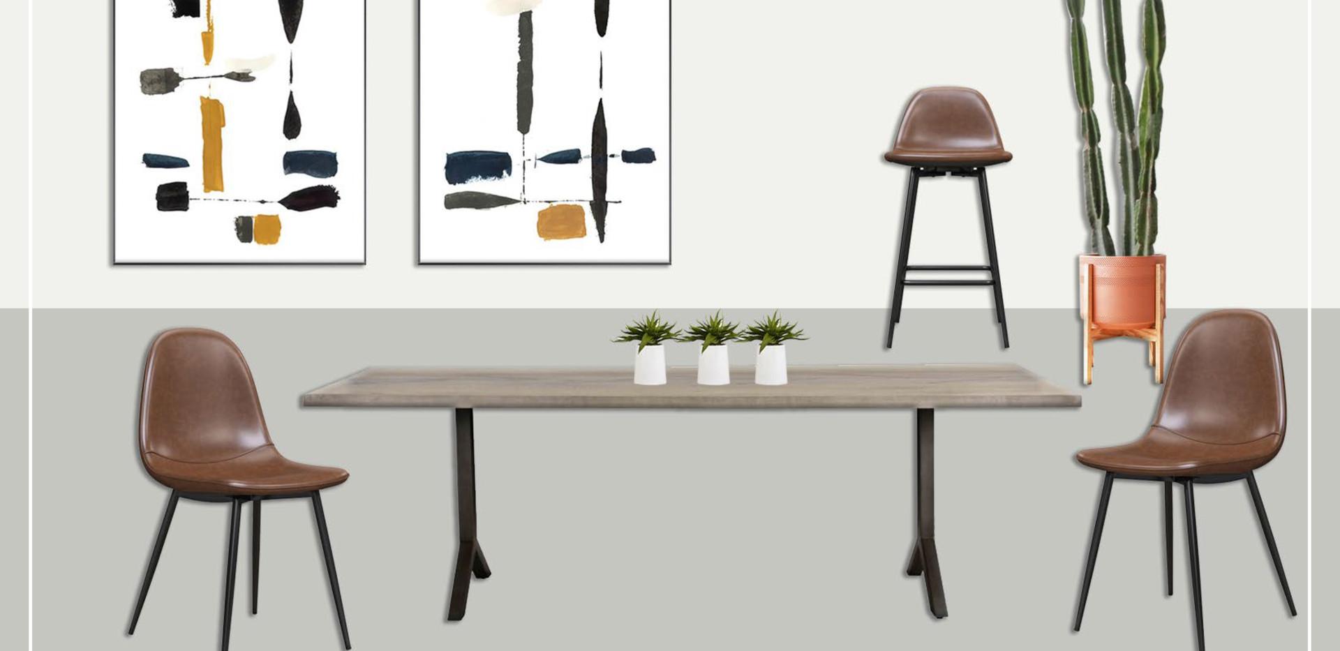 Dining Room | Original Concept Collage