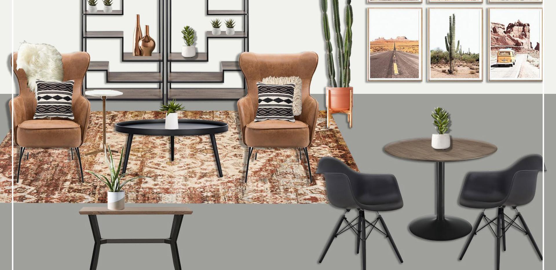 Great Room | Original Concept Collage