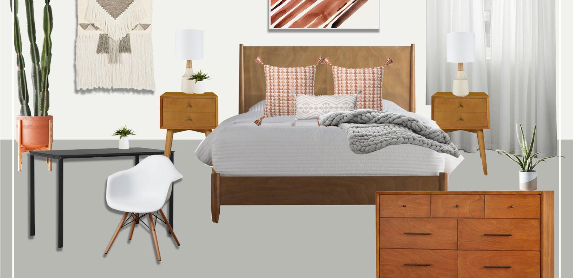 Bedroom A | Original Concept Collage
