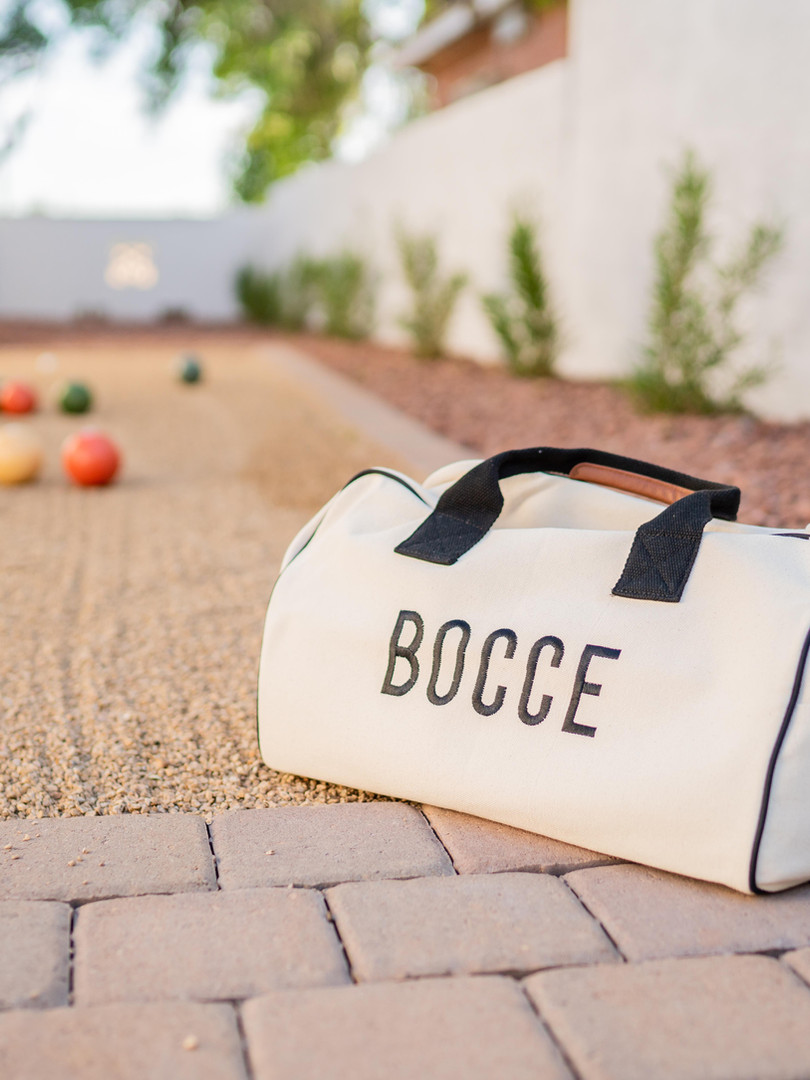 The CopperSmith | Bocce Court