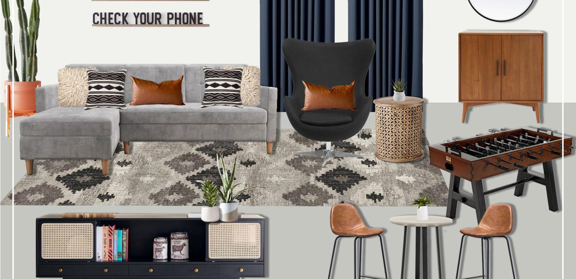 Guest House | Original Concept Collage