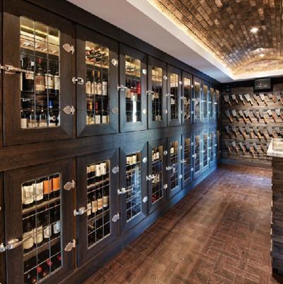 Wine Storage + Host
