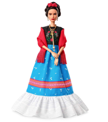 Barbie Signature Frida Kahlo, collection Femmes d'Exception robe traditionnelle