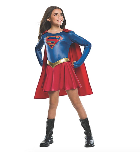 Rubie's Costume de Supergirl Officiel pour Enfant