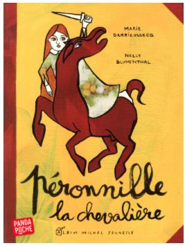 Péronnille,_la_chevalière, livre enfant