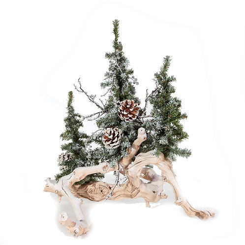 1976 Small Snow Tree Branch 15""