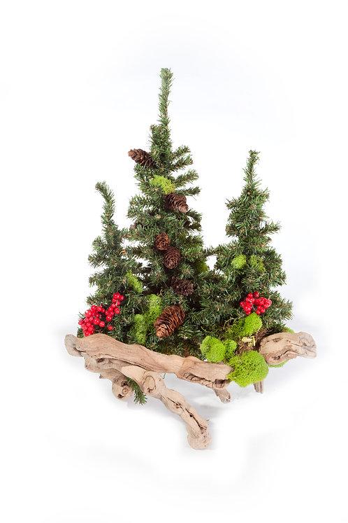 "1967  Christmas Tree Branch 15"""