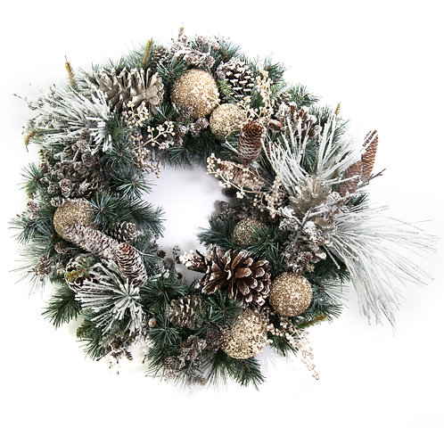 2796 Snow Wreath 30""