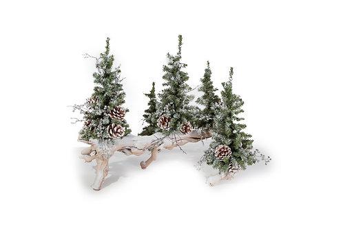 "1975 Snow Tree Branch 20"""