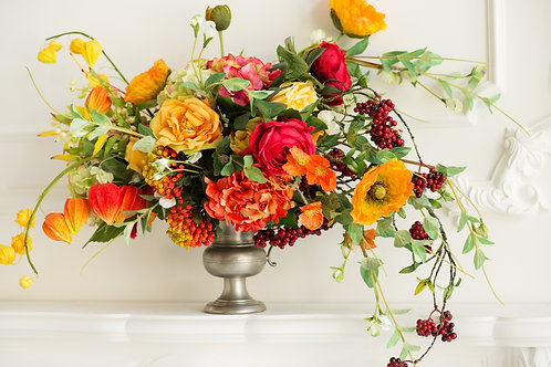 Faux Flower Fall Arrangement Available 10/1
