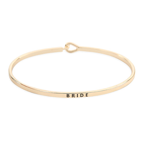 Gold Bride Bangle