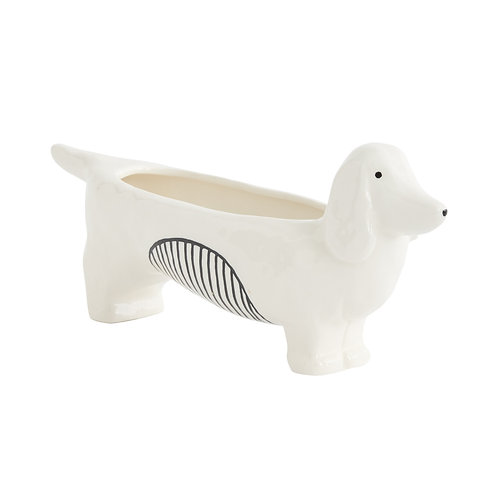 Chappy Dog Planter