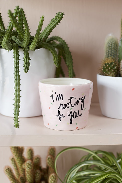 Encouraging Pot, Shipping Only