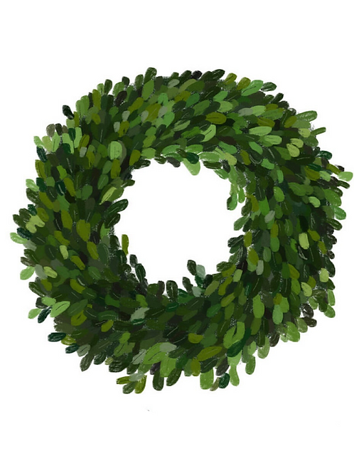 Real Boxwood Wreath