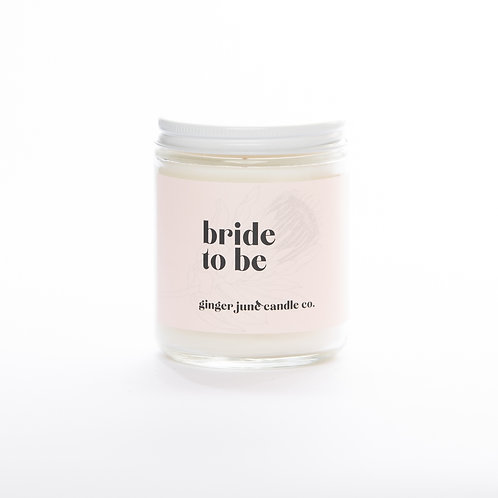 Bride to Be Candle