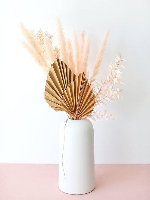 Boho Dried Arrangement with Vase
