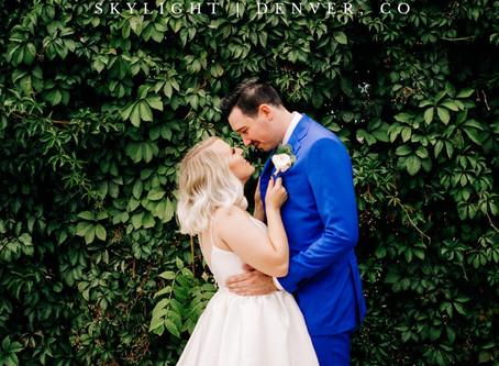 Blog | Modern Skylight Wedding