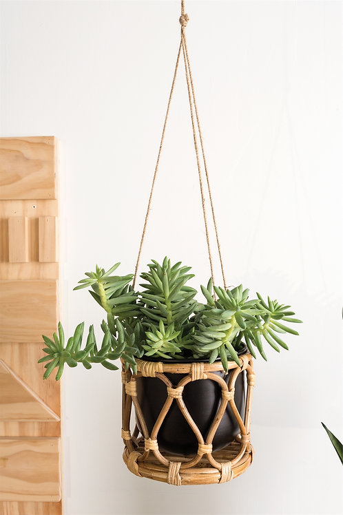 Boca Hanging Pot,Plant not included