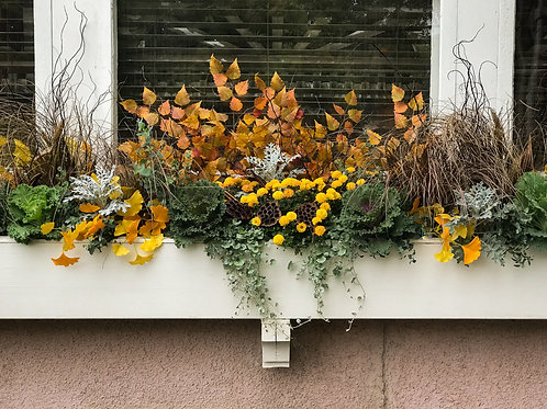 Exterior Planter Flowers Available 10/1