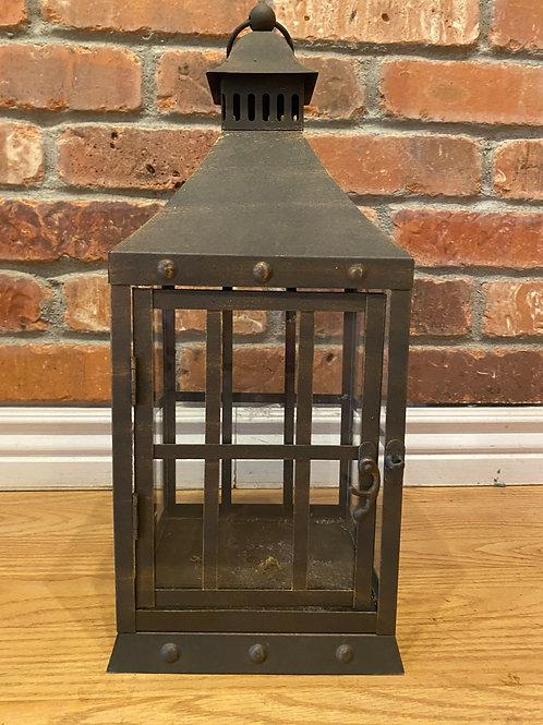 Brown Rustic Lantern Lot of 9