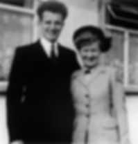 Pastor Ken and Audrey Rowlands Corby 1951
