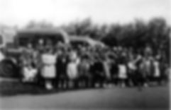 Corby Pentecostal Church Sunday school outing Wicksteed Park Kettering 1953