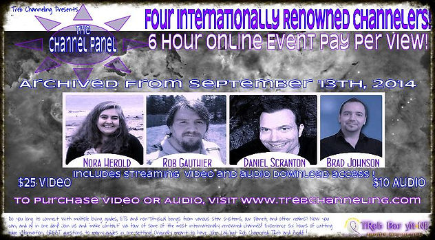 Nora Herold, Rob Gauthier, Brad Johnson, Daniel Scranton, channeling, mediumship, soul, spirit, channeling, channels, metaphysics,