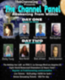 Channel Panel, Channel Panel Event, Awakening From Within, LA Spiritual Event, TRebChanneling, ET Whisperer, Rob Gauthier,Kalina Angell, Wendy Kennedy, Lee Harris, Shaun Swanson, Shelley Young,Trinity Esoterics, Nora Herold, Brad Johnson, Daniel Scranton,