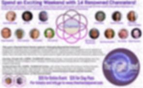 Channel Panel Emerging Beyond The Unknown. Krista Raiisa, Jim Charles, John Cali, Serge Grandbouis, Rob Gauthier, Daniel Scranton, Brad Johnson, Channeling Events, Channeler, Shaun Swanson,