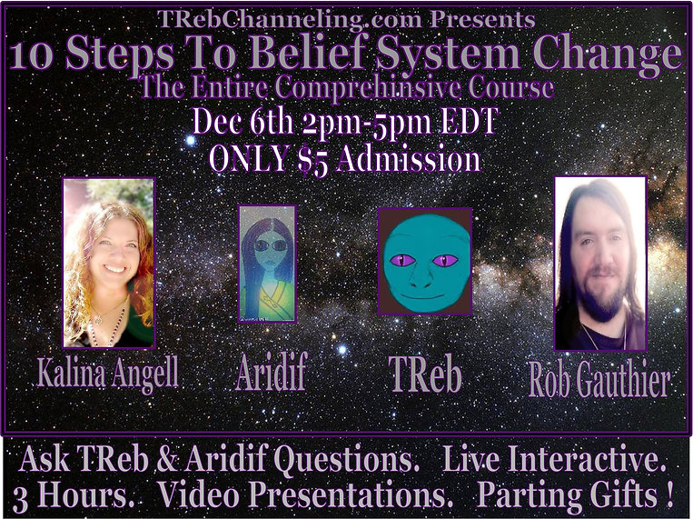 trebchanneling, Kalina Angell, Rob Gauthier, Metaphysics Event