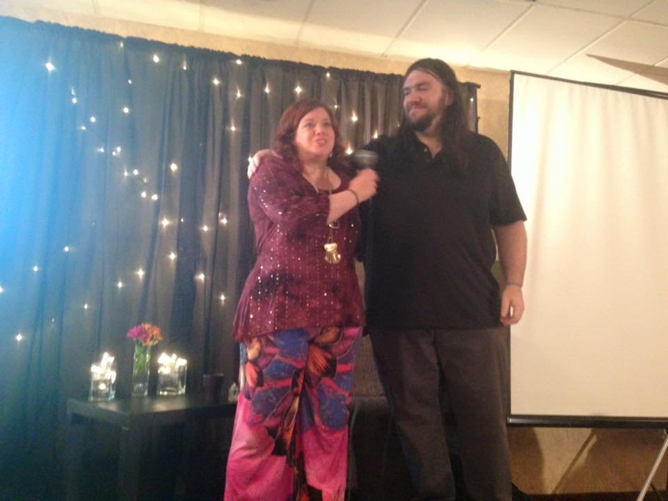 Hosts Rob Gauthier and Kalina Angell