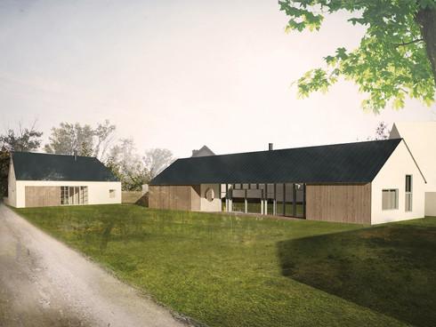 dům na špici vrbovec