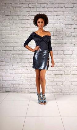 Sly Sequin Mini Skirt