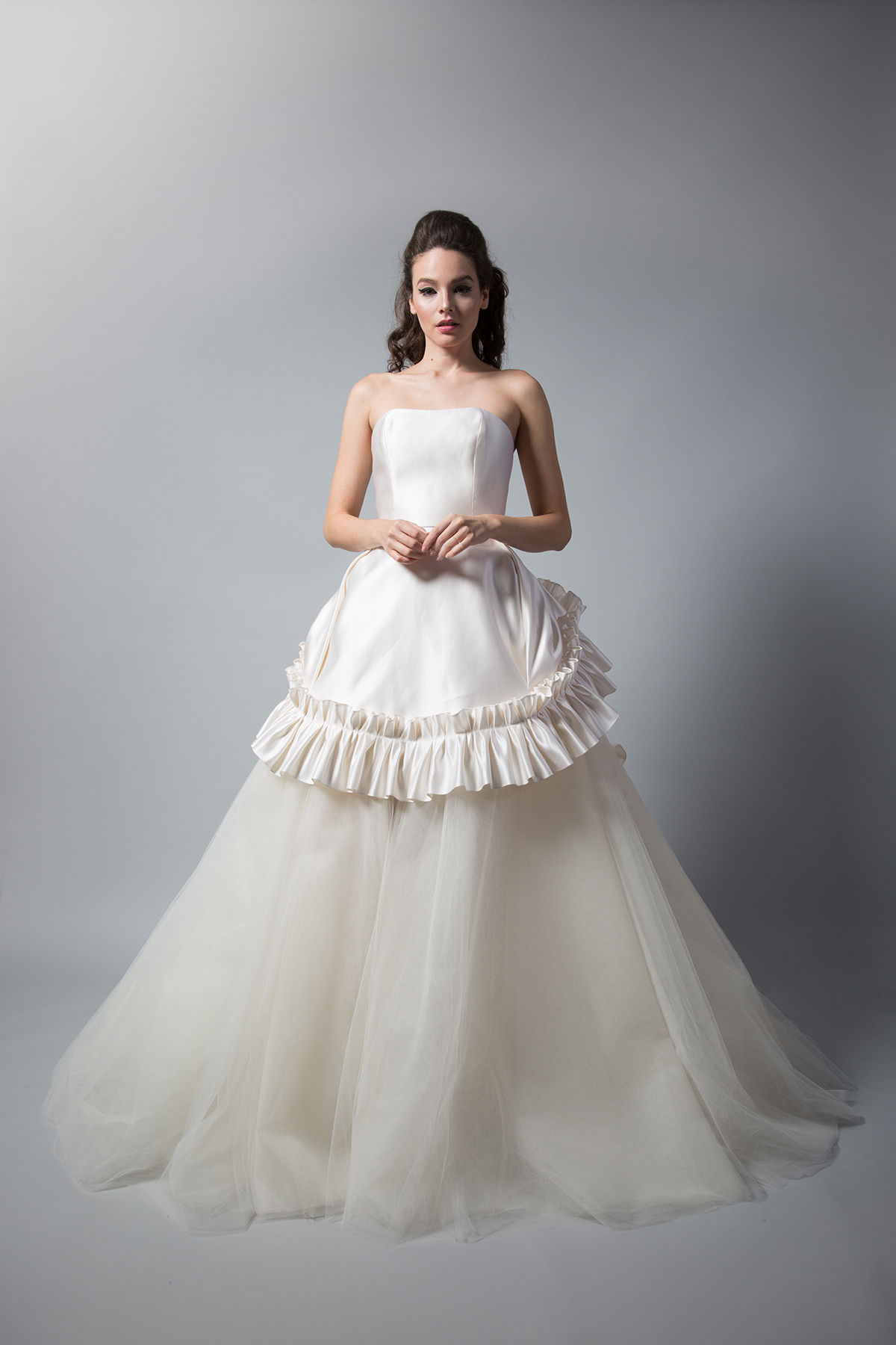 Annetina Gown wTulle