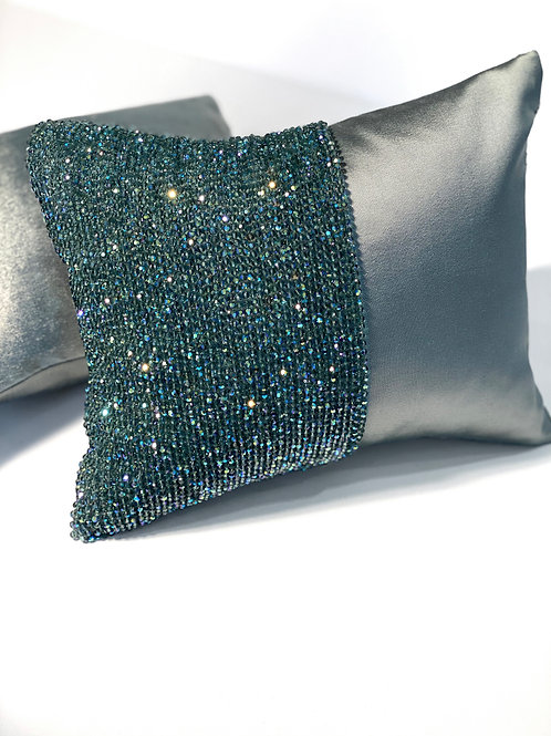 Couture Small Mint Green Pillows Set of 2