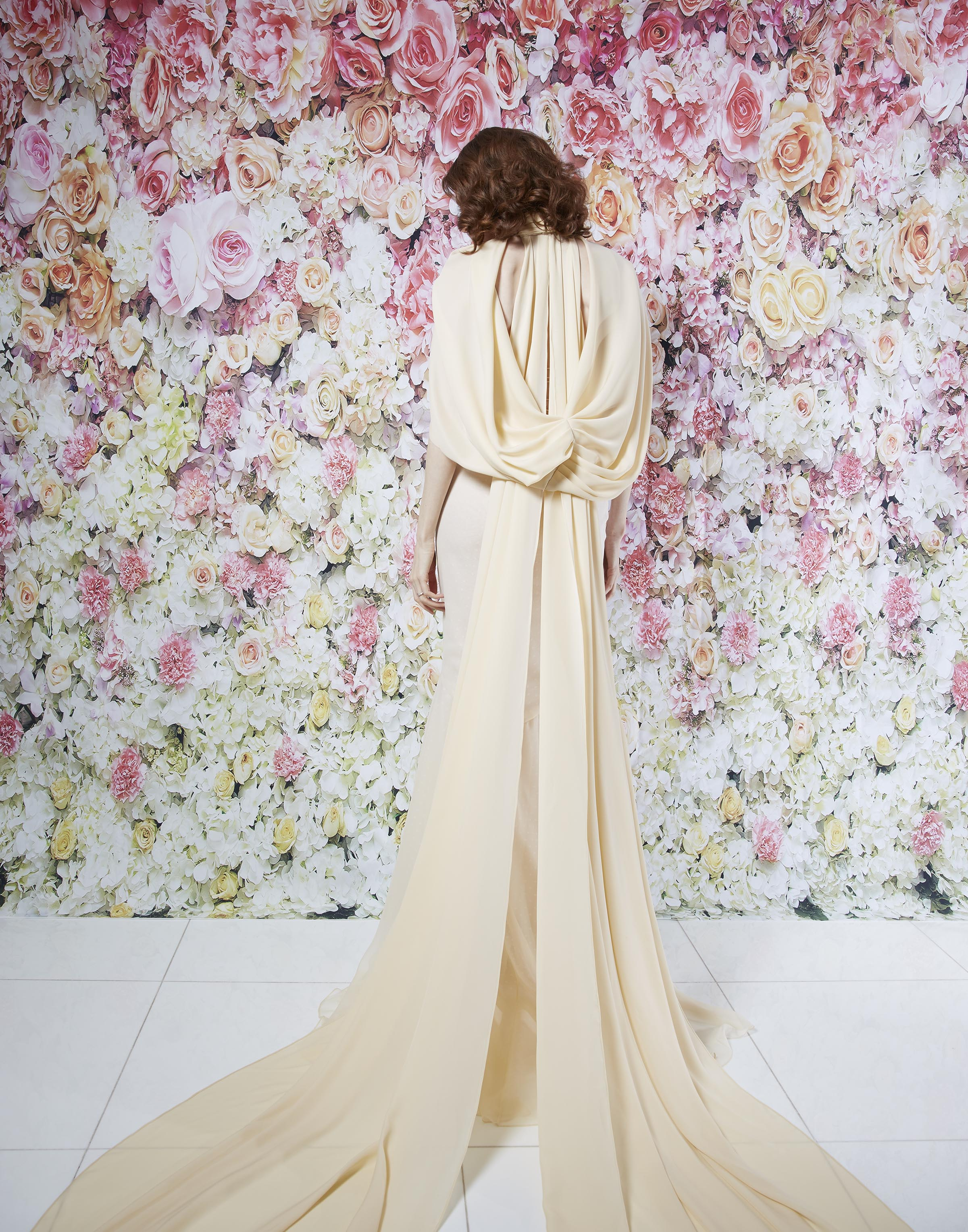 MEADOW GOWN CAPE_B